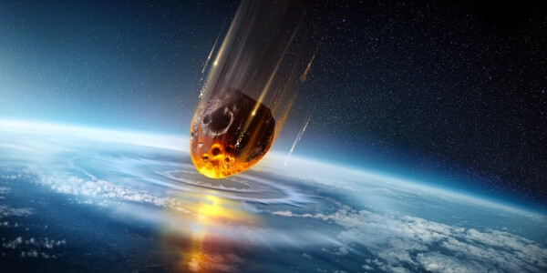 City-sized asteroids 'regularly' smashed Earth in its early years