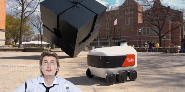 Get ready to share pavements with stocky little delivery bots