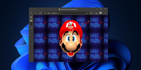 Someone ported Super Mario 64 to play in a browser (again)