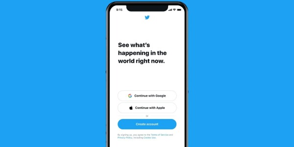 Twitter enables one-step sign-ins with Google and Apple IDs