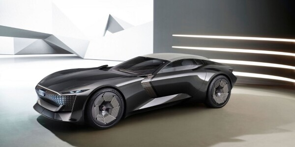 Watch this Audi concept EV transform from grand tourer to roadster