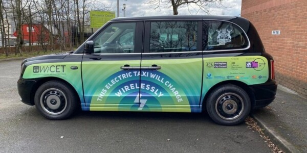 Jolly good! UK launches its first wireless EV charging trial