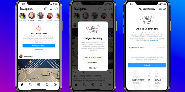 Instagram will demand your date of birth for safety — and ads, of course