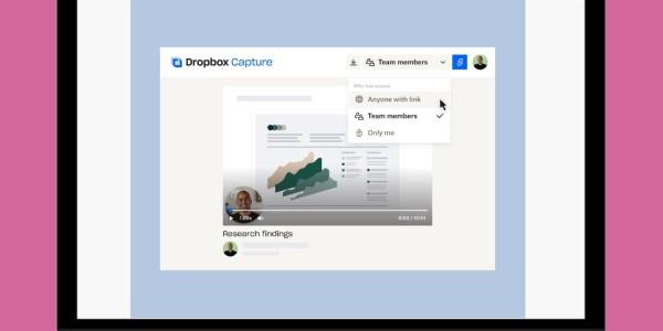 Dropbox, uh, drops new screen and video capture tool