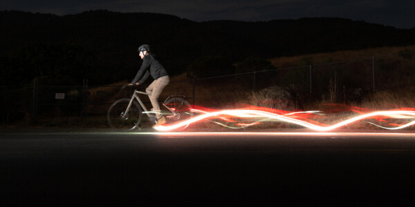 Redshift's LED bike pedals claim to keep cyclists safer than regular lights