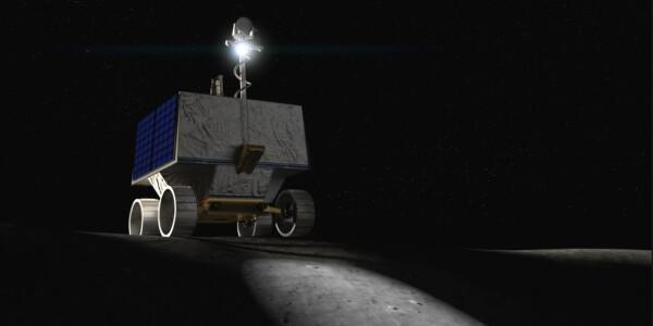 NASA's slamming an ice-hunting rover on the damn MOON