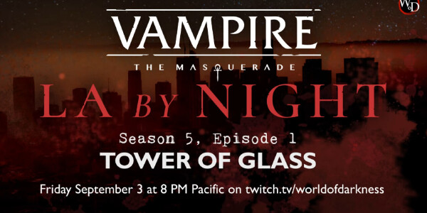 LA By Night, the best damn vampire show around, is returning for its final season