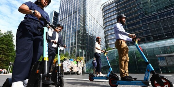 Transport for London expands escooter trials