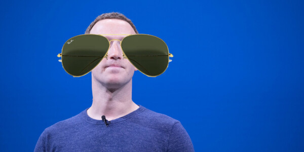 Facebook is making glasses with Ray-Ban — but don't expect AR features