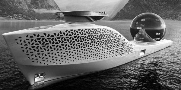 This superyacht wants be the 'Noah's Ark of Science'