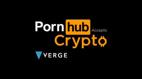 pornhub, cryptocurrency, verge