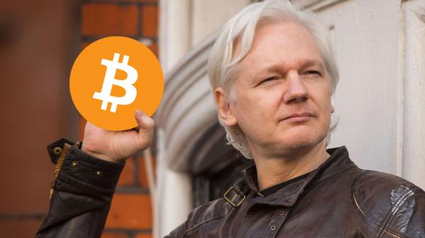 wikileaks, юлианский, ассанж, биткойны, пожертвования, криптовалюта