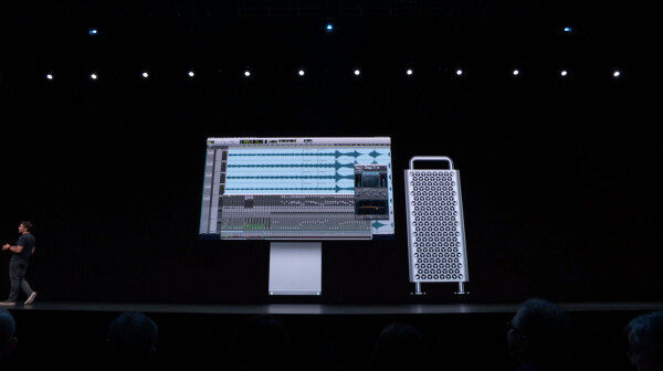 Mac Pro on stage
