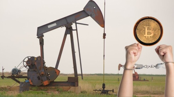 Bitcoin oil well