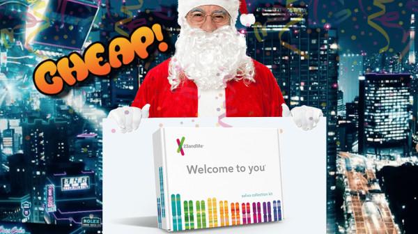 cheap header image 23andme