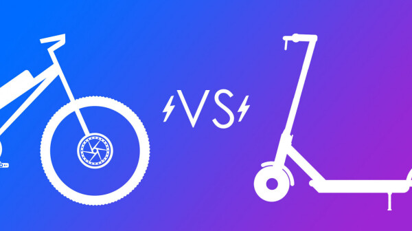 E-bikes vs electric scooters