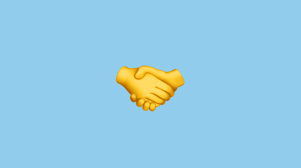 handshake, emoji