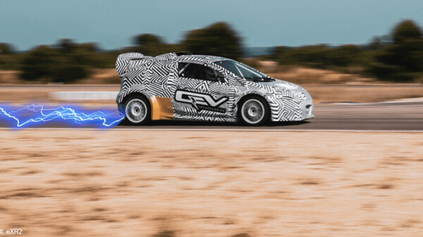 qev, erx2, rallycross, electric, car, racing, ev, future