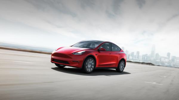 Tesla Model Y allure hed