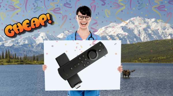 amazon fire 4k tv stick HEADER CHEAP