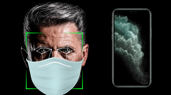 header image unlock face mask touch id iphone