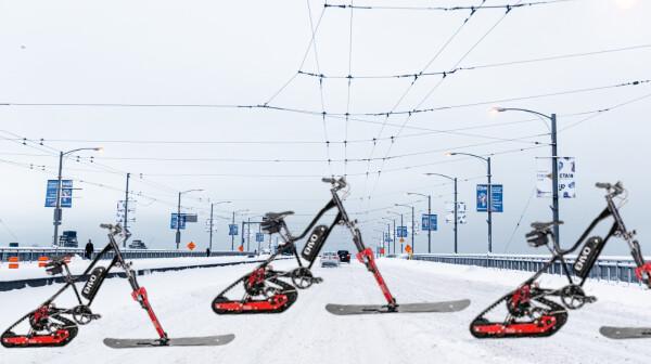 canada, car, bike, electric, snow, snowbike, conversion, kit, future