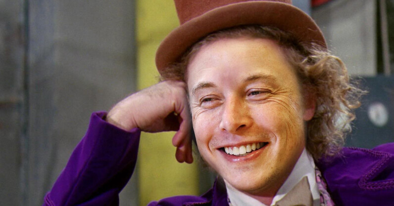 Billionaire clown Elon Musk drags the late Chris Farley into Tesla's feud with Ford