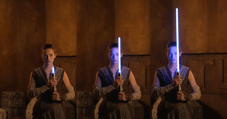 Disney finally made a retractable lightsaber that looks legit