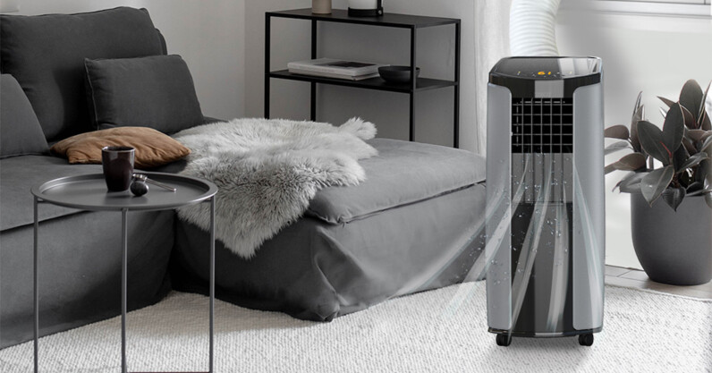 This portable air conditioner can chill out any room and dehumidify too, all for $300.
