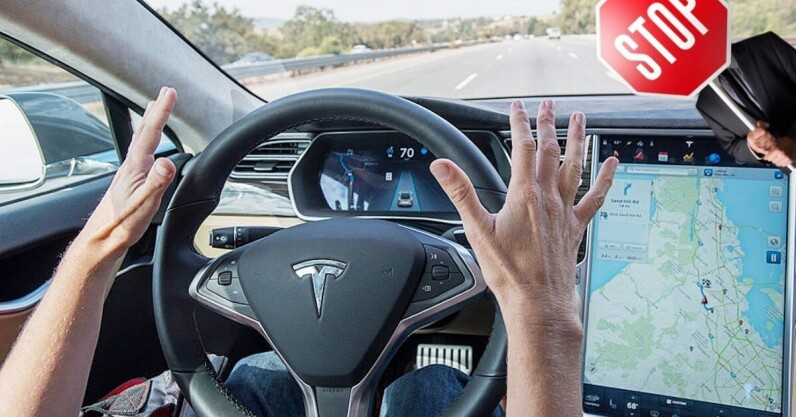 Tesla 'driver' arrested in California for using Autopilot while in the back seat