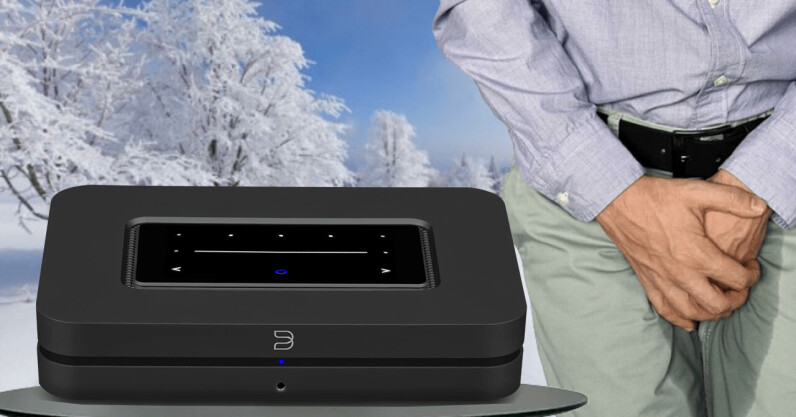 Bluesound's new Node music streamer is here and I just piddled with joy