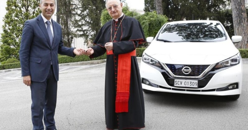 Dear EV makers, the pope doesn't need ANY MORE electric popemobiles