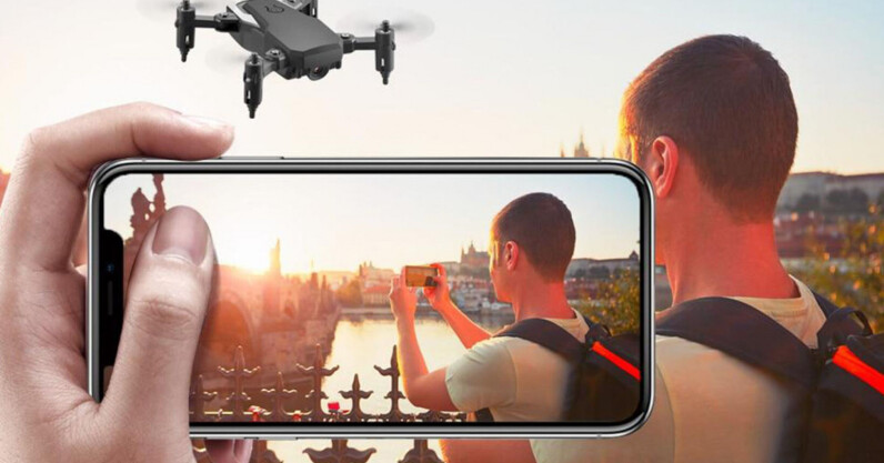 This drone captures 4K pictures and video, flies like a champ, and it's less than $40