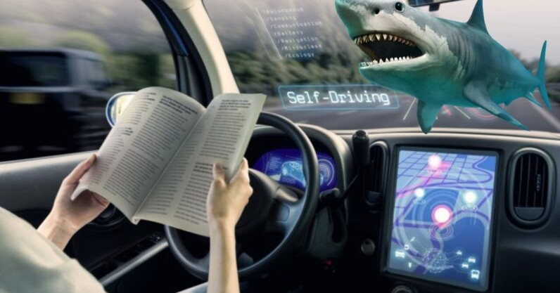 3 in 10 Americans would rather swim with sharks than ride an autonomous vehicle