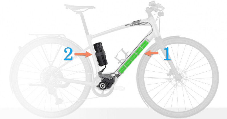 You know what's better than a one-battery ebike? A dual-battery ebike!