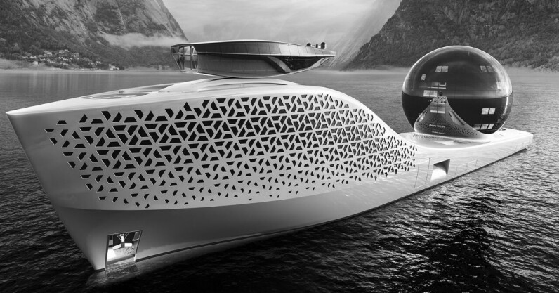 Meet Earth 300, the superyacht that aims to be the 'Noah's Ark of science'
