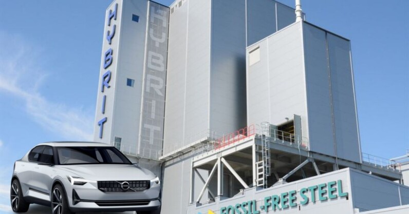 Volvo bets on fossil fuel-free steel for the future of car making