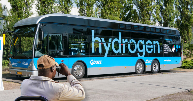 Hydrogen buses and trucks could be the future for sustainable road transportation