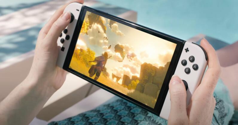 Nintendo Switch OLED rất đẹp, nhưng tôi muốn có Switch Pro cho Zelda –  TinMoiZ
