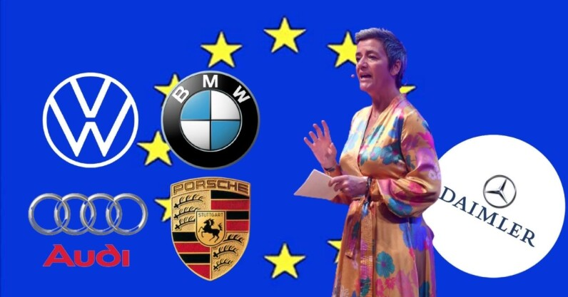 EU fines German car cartel $1B over emissions collusion, but spares Daimler for snitching