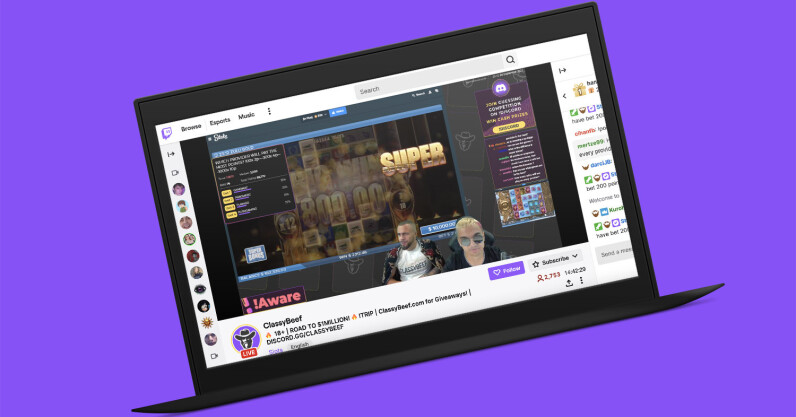 Gambling streams on Twitch are full of legal and ethical issues