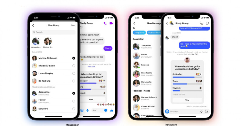 Instagram now lets you add Messenger contacts to groups