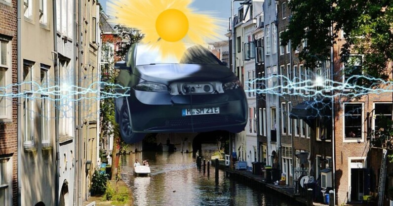 100 solar EVs will boost Utrecht's vehicle-to-grid charging system - the next web