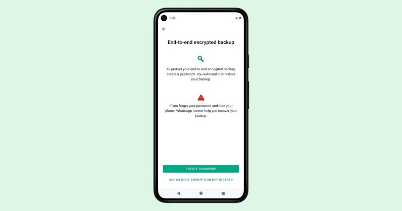 WhatsApp now offers encrypted backups. Here's how to opt in