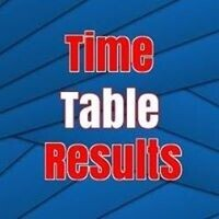 Time Table Results