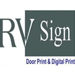 RV Sign - Door Print & Digital Print