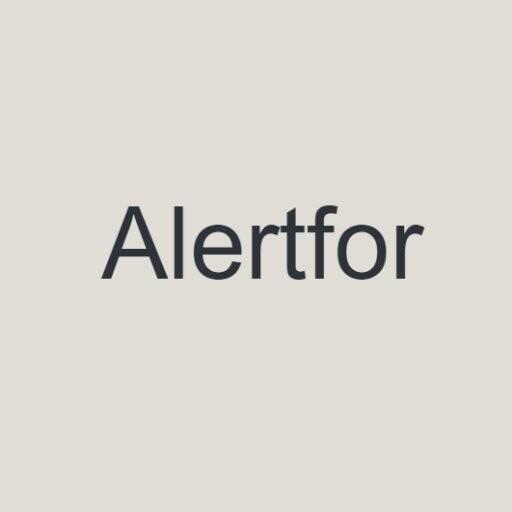 alertfor