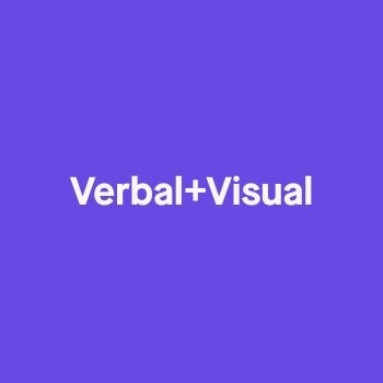 Verbal+Visual