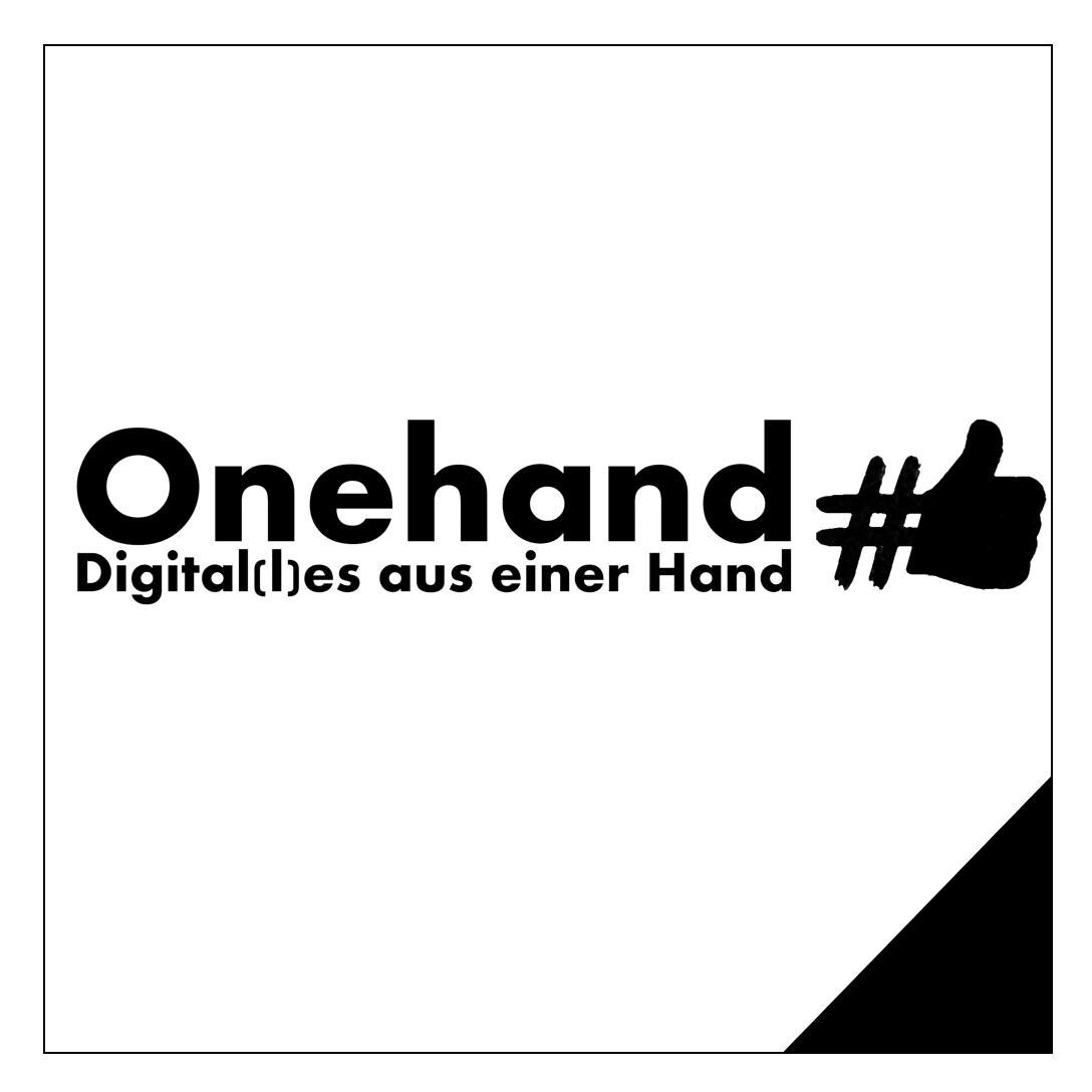 Onehand - Digital(l)es aus einer Hand