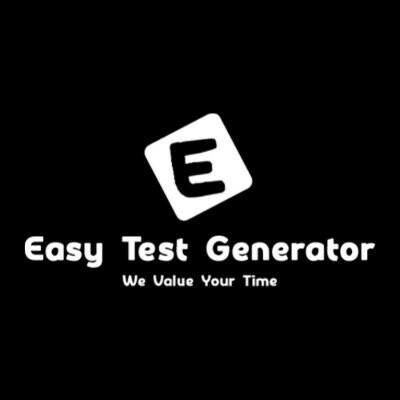 Easy Test Generator